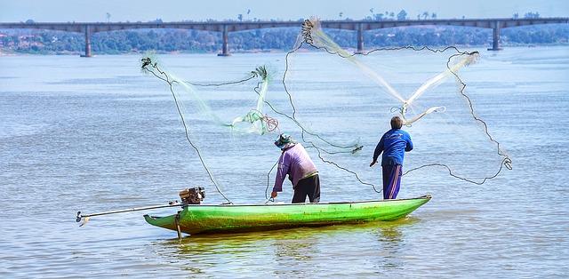 rybáři na liodi